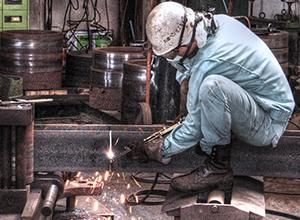 日本を支える鐵職人